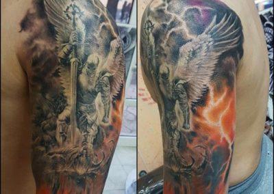 Colored Tattoo (21)