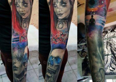 Colored Tattoo (22)