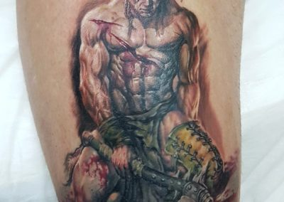 Colored Tattoo (25)