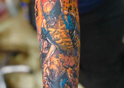 Colored Tattoo (29)