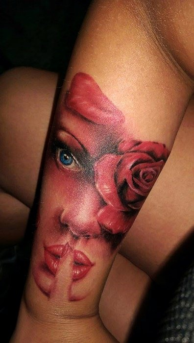 Colored Tattoo (5)